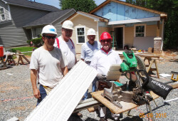 May 9 Habitat Work Day with St Gabes